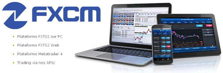 plateforme trading FXCM