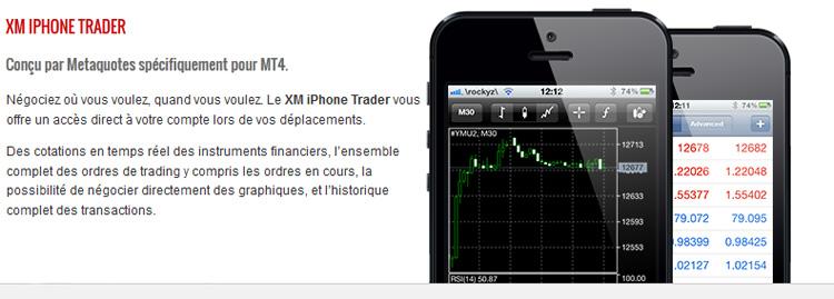 XM trader mobile broker