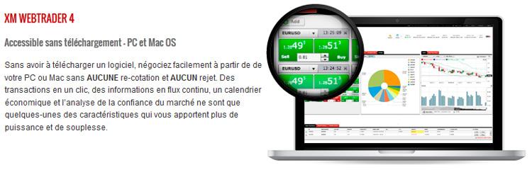XM Webtrader 4 Broker
